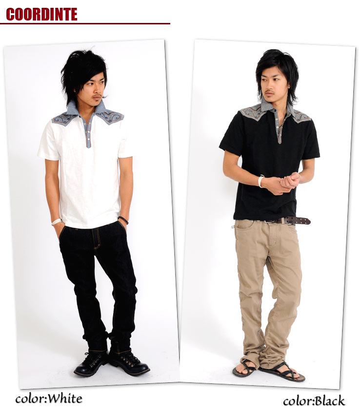 メンズファッションSPADE,ポロシャツ,半袖